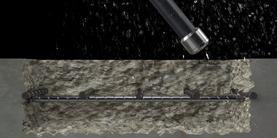 hydrodemolition aquajet systems water technique technology concrete rebars aqua cutter jet
