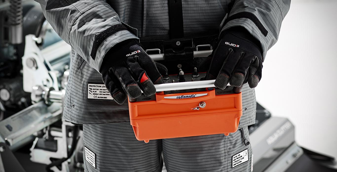 hydrodemolition aquajet systems aqua cutter features radio remote control