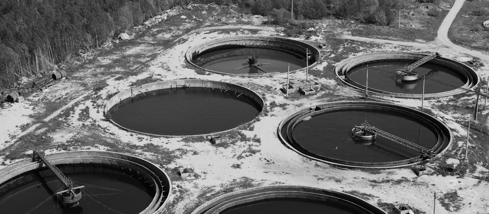 Wastewater plants