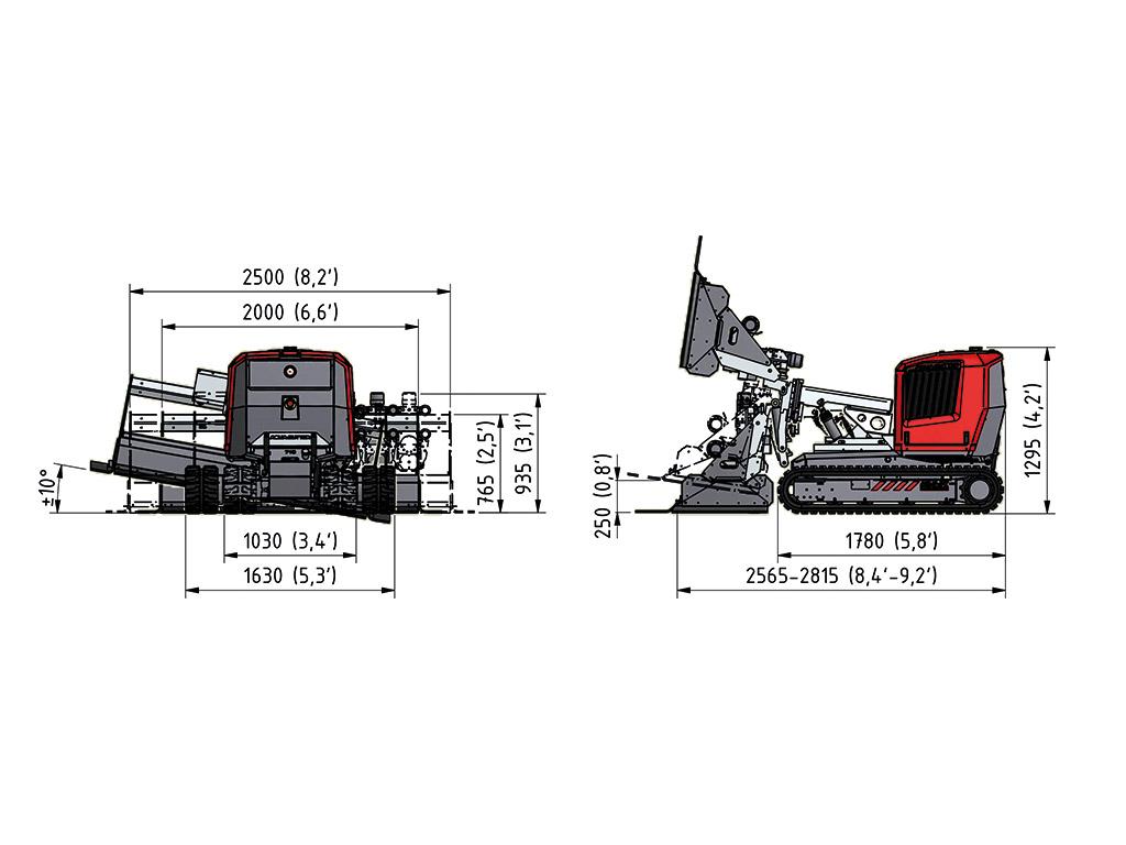 Aqua cutter 710H specification