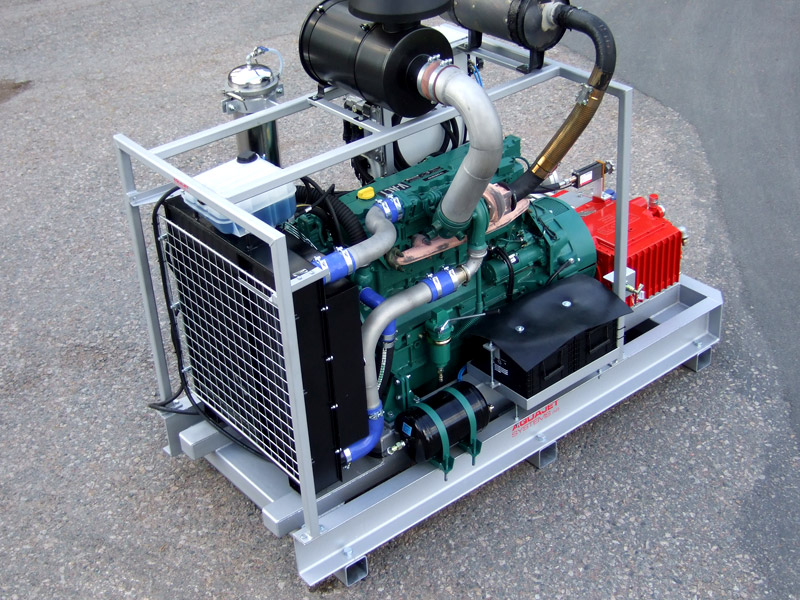 Power Pack skid mounted
