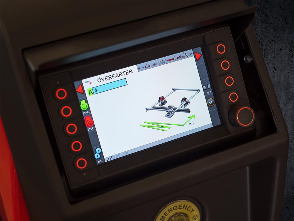 ERGO controller aquajet systems products news
