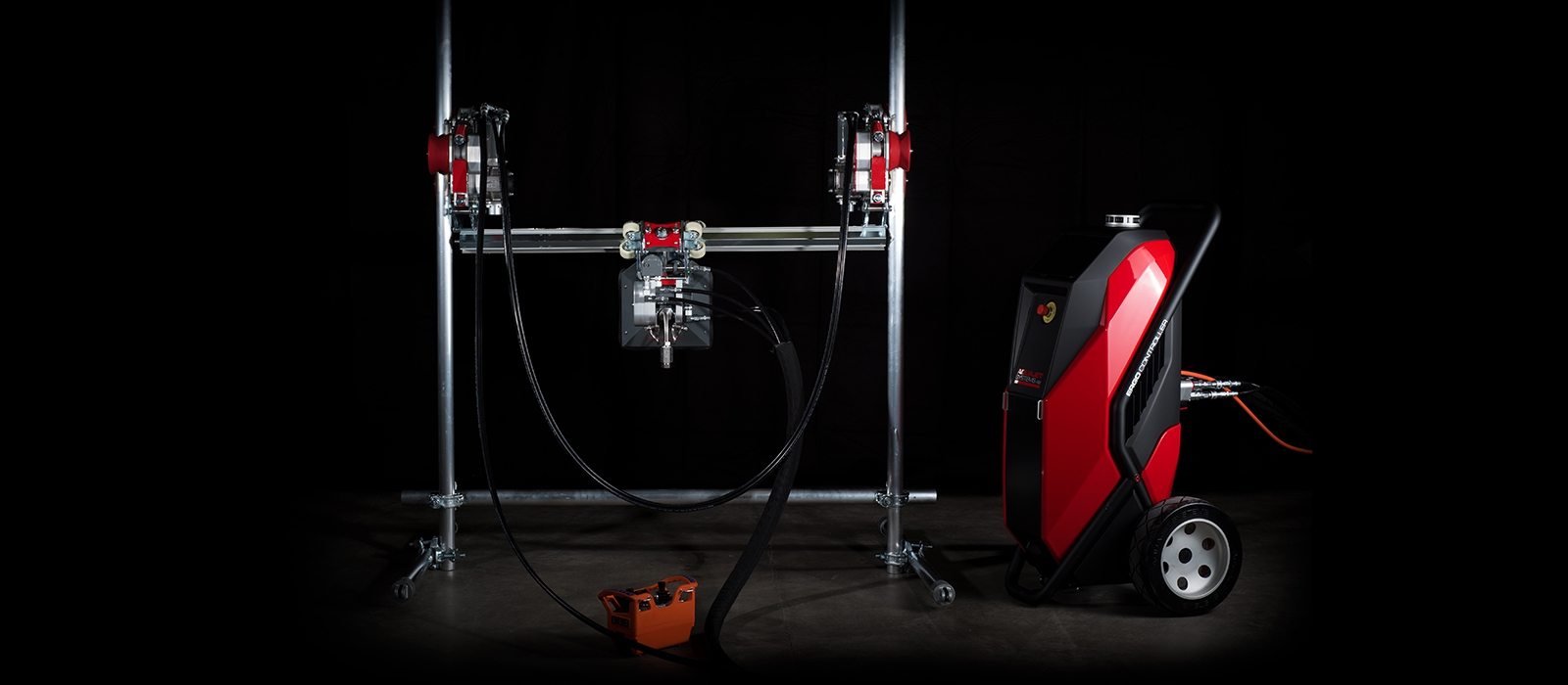 ERGO GO Aquajet systems starter kit hydrodemolition aqua cutter