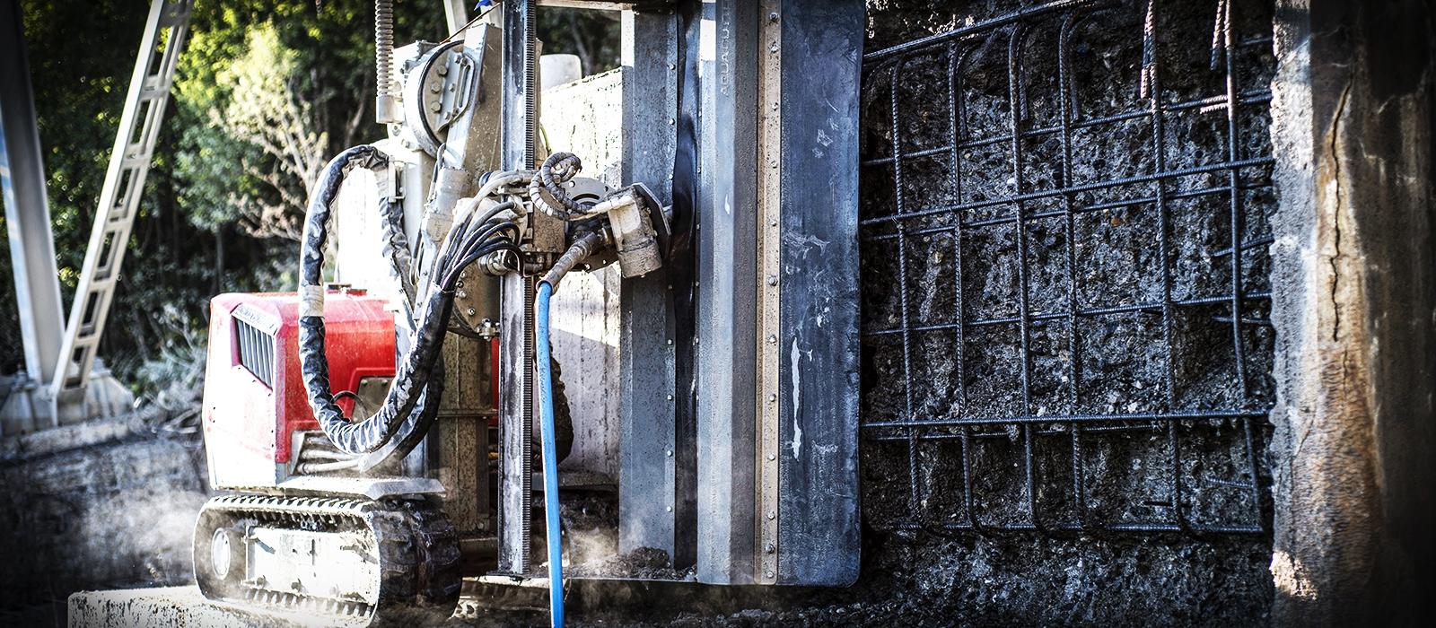 aquajet systems aqua cutter ergo concrete hydrodemolition